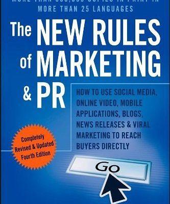 The New Rules of Marketing and PR David Meerman Scott