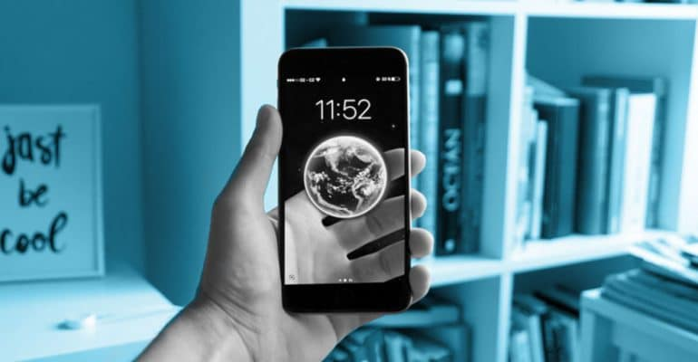 Augmented reality on a mobile phone - globalHMA