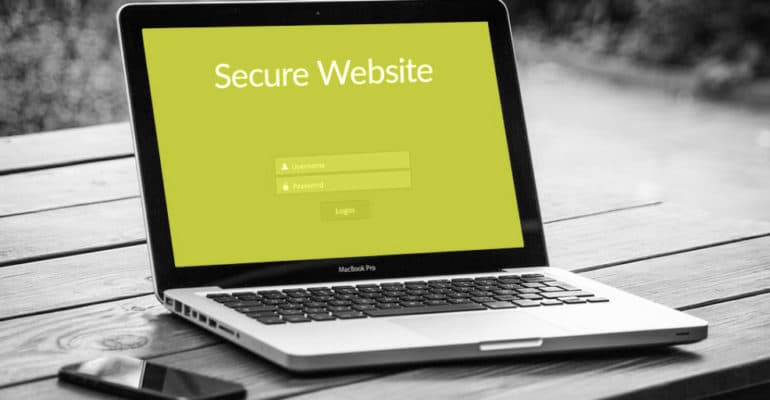 ssl-certificate-for-your-website-on-a-laptop